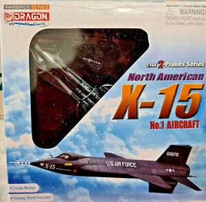 North-American-X-15-No-1-Aircraft-Scala-1-144-Die-Cast-Dragon-X-Planes