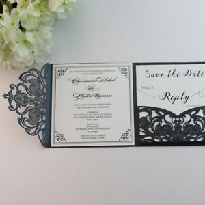 Personalized-cut-out-square-pocket-Wedding-Invitations-Cards-With-Envelopes