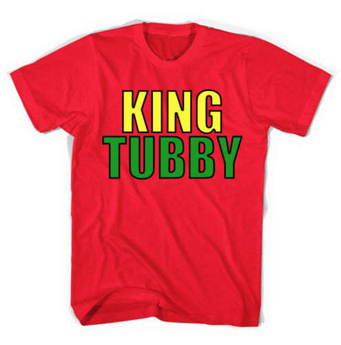 King Tubby Reggae Dub  Unisex T shirt  All Sizes Colours