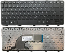 Compatible US English Black Backlit Laptop Keyboard Replacement for HP ProBook 430 G2 440 G2 445 G2 440 G0 440 G1 445 G1 Light Backlight with Frame