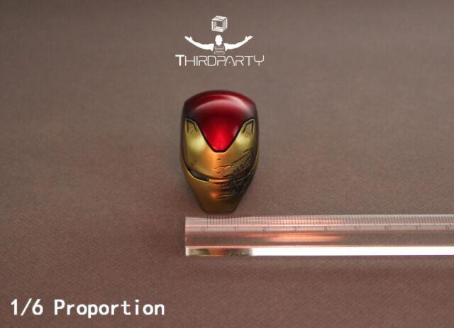 "Third party SZ-03 1//6 MK50 Battle Damage Helmet Mask Fit 12/""HT Iron Man Figure"