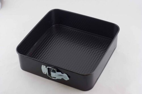 10 Inch Square Springform Pan Non-stick Loose Base Cake Tin Tray 25cm RRP $38.50