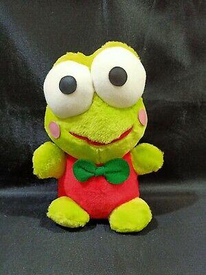 "Kero Keroppi Sanrio Eikoh Vintage 1996 BIG 8.5/"" Plush Animal Toy Doll Japan"