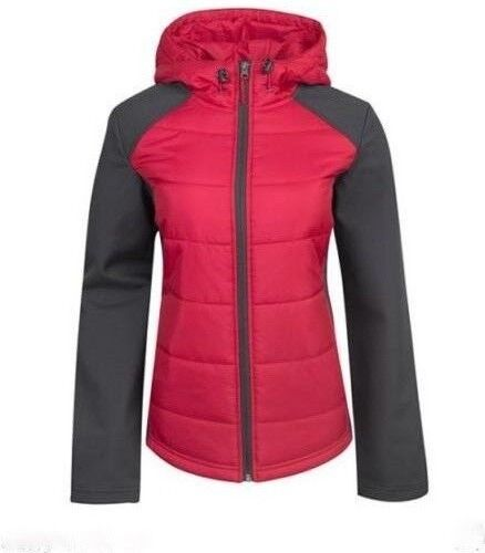 NEW Free Tech Womens Sleek Puffer Jacket Coat Softshell Sleeves XS S M L XL XXL