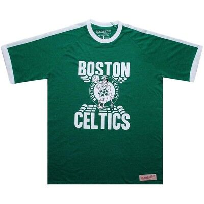 green 3338A-301 $50.00 Mitchell And Ness Boston Celtics Back Screen Tee