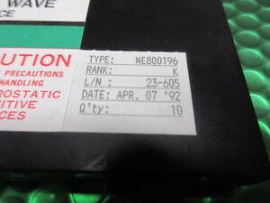 NE800196-NEC-N-Channel-UHF-Microwave-GaAs-MESFET-C-Band-Medium-Power-NEW