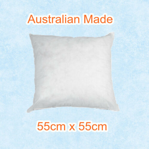 Aus Made New Cushion Inserts Premium Polyester Fibre Filling--Multi Size Choice