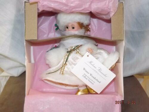 New Madame Alexander Doll WINTER WONDERLAND #79160 LILLIAN VERNON EXCLUSIVE