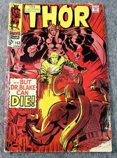 Vintage Marvel Comic No 153 The Mighty Thor But Dr Blake Can Die