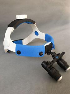 4X-6X-420mm-Medical-Dental-Surgical-Headband-Binocular-Loupes-Glasses-Magnifier