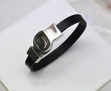 Bracelet Ceinture Cuir et Acier fermeture magnétique femmes ados cadeau 18 cm