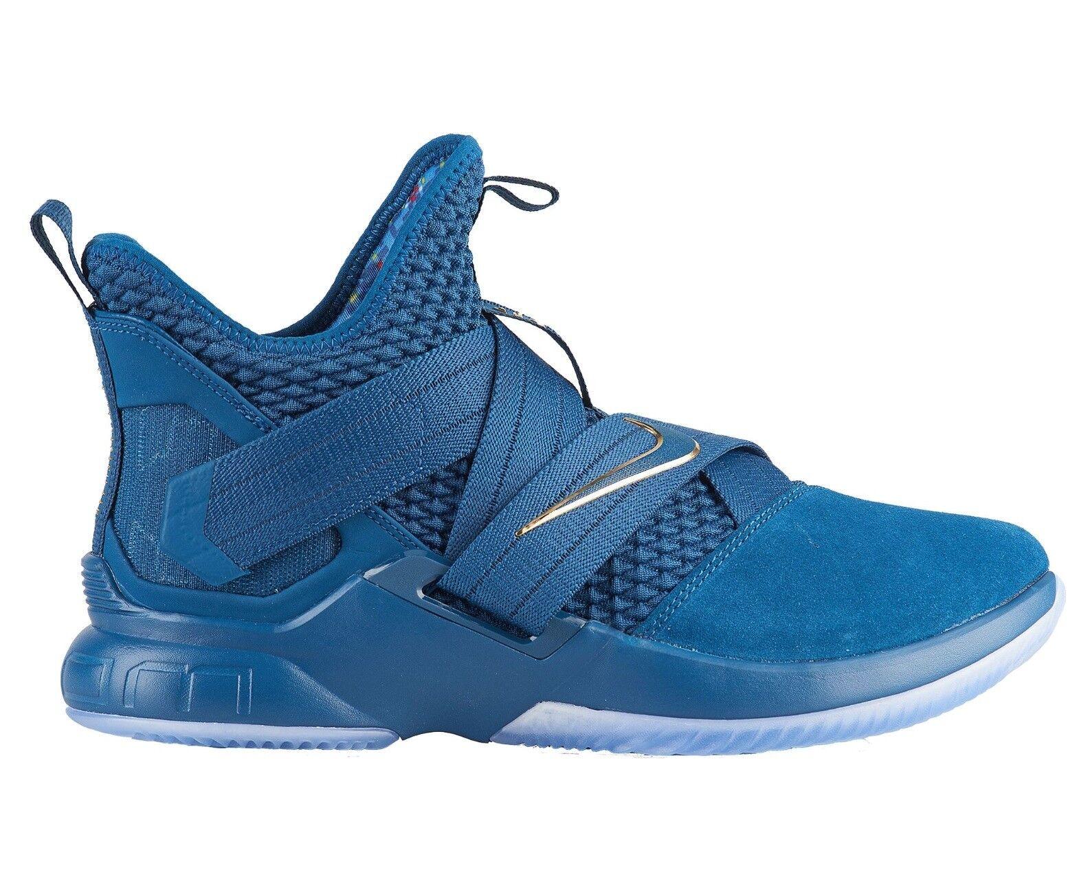Nike lebron soldato xii sfg agimat Uomo ao4054-400 blu egeo scorpe 8