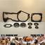 Stihl MS460 046 Crank Crankshaft Bearing Kit  Gaskets  TWO Oil Seal sets