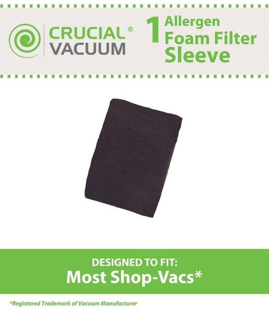 3pcs Filter Sponge For Shop Vac 90585 90585-00 Vacuum Cleaner Accessories Parts