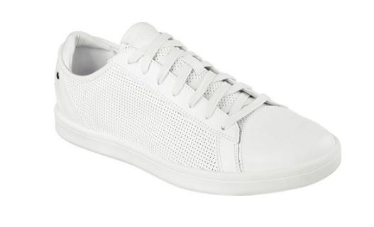 Sneakers 52349 / wht leder highland mn (m), weißes leder wht casual schuhen 88d5b1
