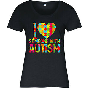 I-Love-Someone-With-Autism-T-Shirt-Cute-Heart-Awareness-Ladies-Top