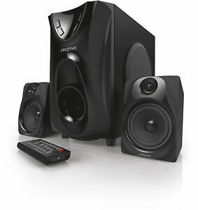 Creative E2400 Home Theater System  (New) (Black)