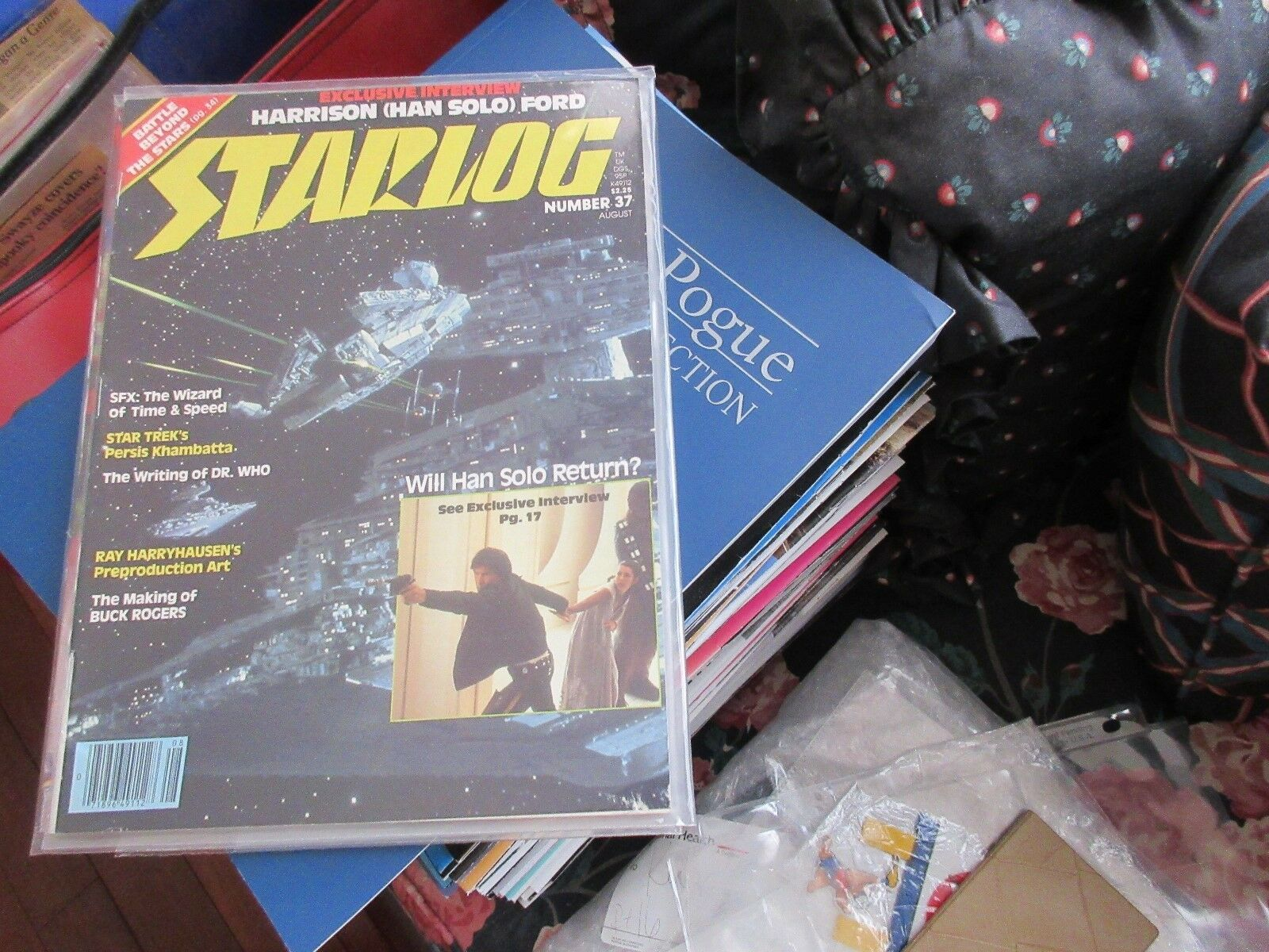 STARLOG , #37 , New/Old Inventory , Han Solo , Harrison
