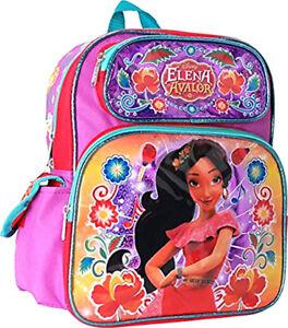 "Disney Shimmer and Shine Toddler Backpack 12/"" Canvas Girl/'s Book Bag"