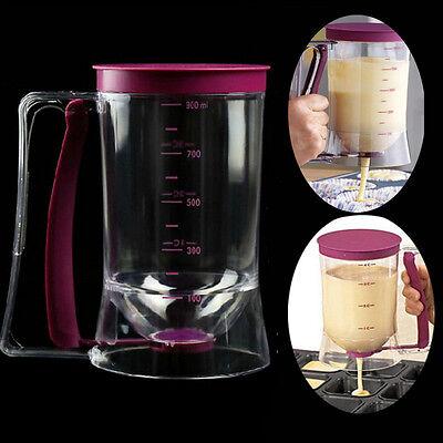 Cupcake Pancake Batter Dispenser Muffin Helper Mix Pastry Jug Baking Tool
