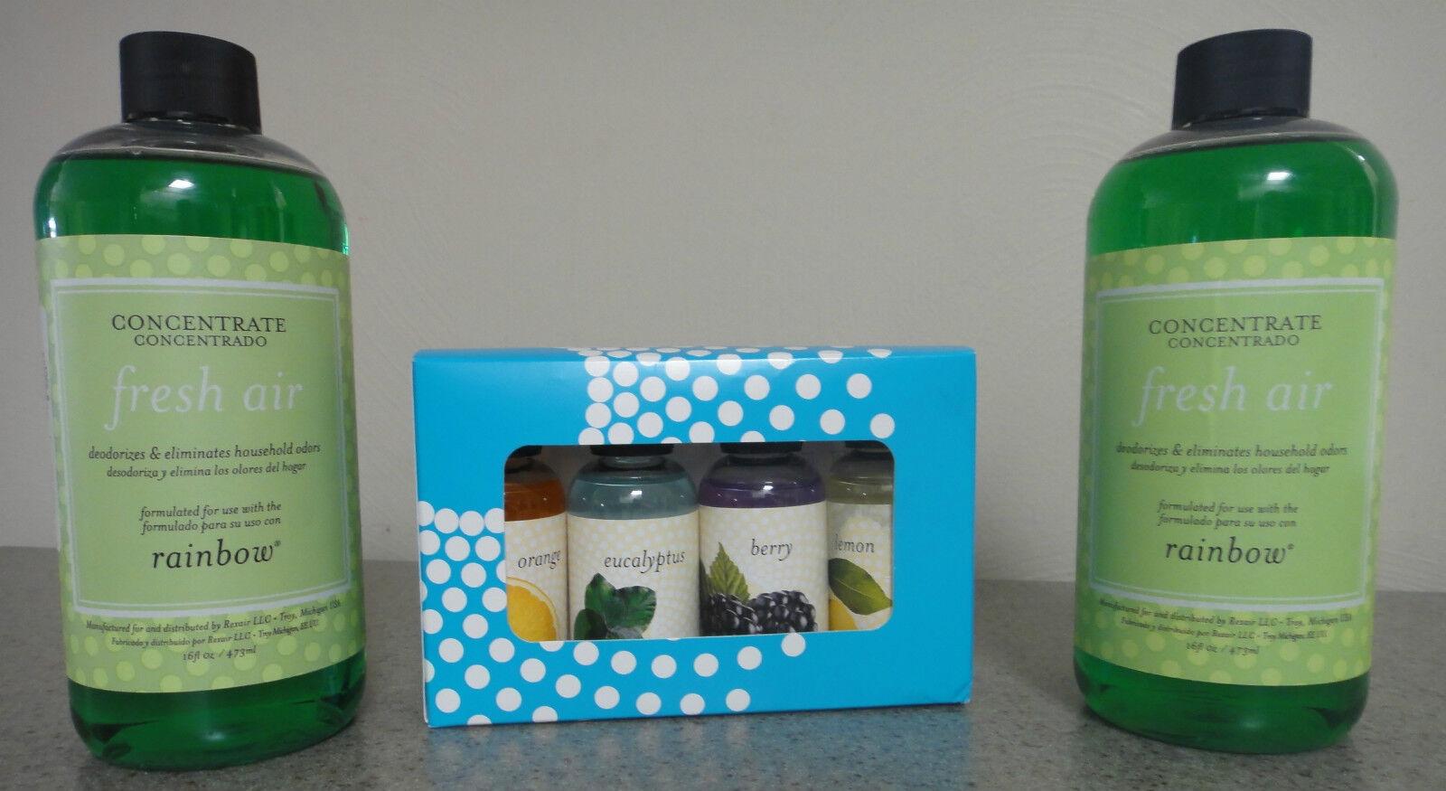 New Genuine Pack of 4 Rainbow ORANGE Vacuum Rainmate Fragrance Scent Set R14676