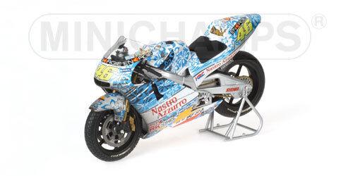 Honda NSR 500 2001 V.Rossi GP Mugello  Dirty Version 122016186  1/12 Minichamps