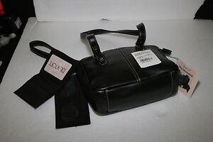 Buxton-Madison-Mini-Tote-Handbag-The-Maddie-black-checkbook-credit-card-holder