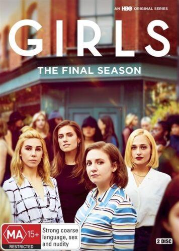1 of 1 - Girls : Season 6 (DVD, 2017, 2-Disc Set)