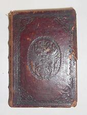 "Buch ""C. CRISPI SALLUSTII"", mit Habsburger Doppeladler, 18/19. Jhdt."