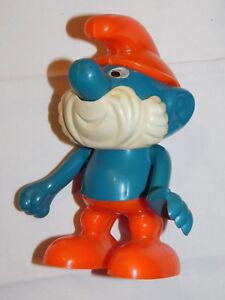 vintage figurine STATUE tirelire THE SMURFS Les Schtroumpfs GERMANY peyo BD