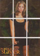 "Buffy Reflections - ""Portrait of a Slayer"" Set of 9 Puzzle Chase Cards #S1-9"