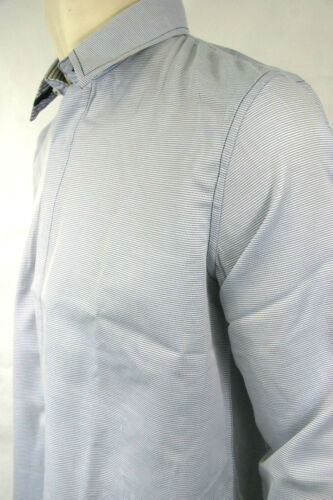 English Laundry Shirt Blue Pin Dot  EWL1332
