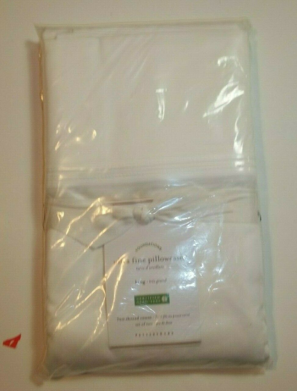 Pottery Barn Ivory Ultra Fine Pillowcases King S  2