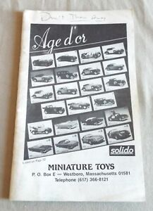 1985-86-MINIATURE-TOYS-TOY-CATALOG-AGE-D-039-OR-SOLIDO-NZG-RIO-PLAYART-amp-MORE