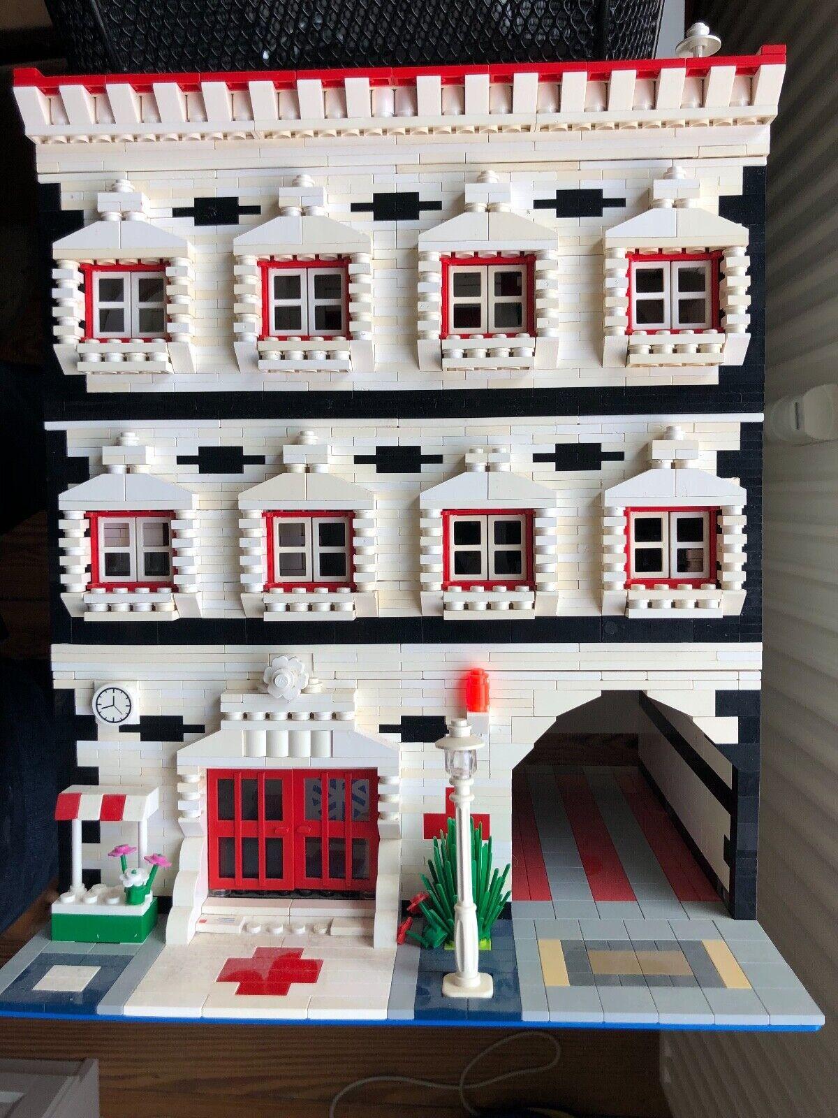 Lego hospital, única, op-habitaciones, op-habitaciones, op-habitaciones, enfermería, pisos individualmente desmontable  n ° 1 en línea