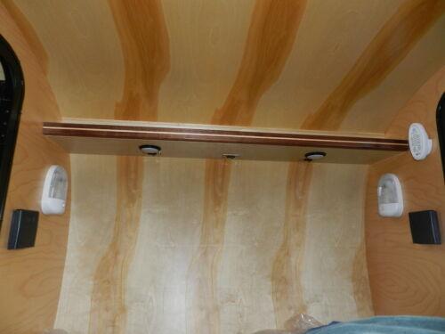 "RV Teardrop Marine Horse Utility LED Ceiling Light w//switch 4.85/"" Diameter"