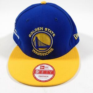 New Era 9FIFTY GOLDEN STATE WARRIORS Best Record Ever 73-9 SnapBack NBA Hat NWT