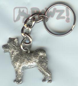 ALASKAN MALAMUTE Dog Tiny One Resin Keychain Key Chain Ring