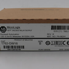 Allen Bradley 1762 Ow16 Micrologix 16 Points Relay Output Module Factory Sealed