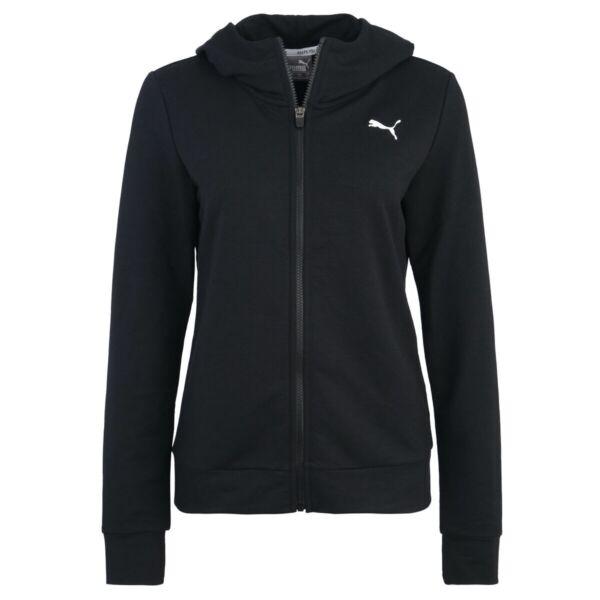 PUMA Damen Modern Sport Kapuzen Sweat TR Sweatshirt Langarm 850080 Puma Black
