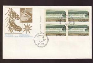 Canada FDC 1979 sc#726 Fundy $1 National Park, LL PB