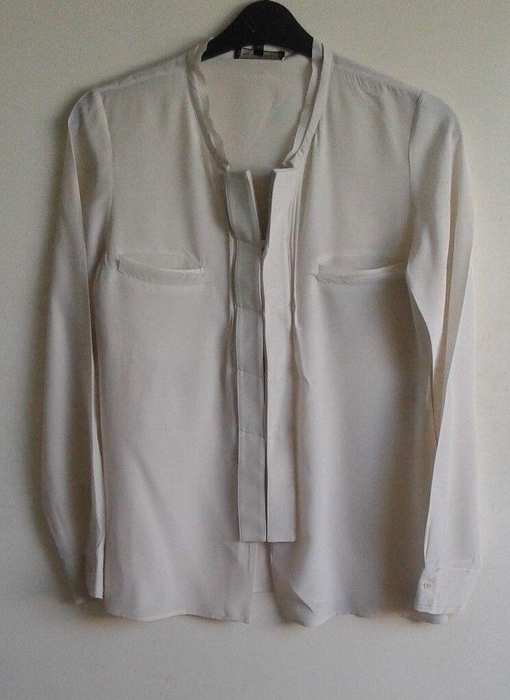 Barbara Bui (Rare) 100% Silk Blouse - Medium  RRP