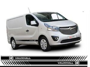 0a516ab93d19de Image is loading Vauxhall-Van-Side-Stripes-Vivaro-Custom-sizes-available-