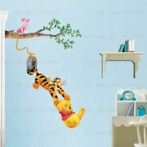 Image Is Loading Baby Winnie The Pooh Wall Stickers Nursery Baby  Part 90