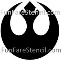 Star Wars inspired REBEL Alliance Sticker Vinyl Decal - Car Window Wall Oracal