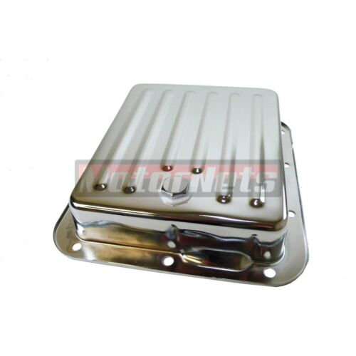 Chrome Case Pan Fill Style Ford C4 Automatic Transmission Pan Stock Capacity