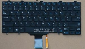NEW For Dell Latitude E5250 E5270 E7250 Keyboard Latin Spanish Teclado Backlit