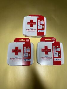 JOHNSON & JOHNSON First Aid to Go Kit 12pc (Pack of 3)🌹🌹🌹