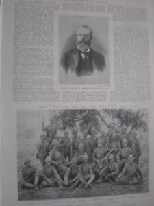 Printed-photo-Officer-of-2nd-battalion-Royal-Irish-regiment-1898-my-ref-T