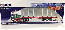 Corgi CC13742, Scania R (REAR TAG) LOG TRAILER, Eddie Stobart, Carlisle, Cumbria